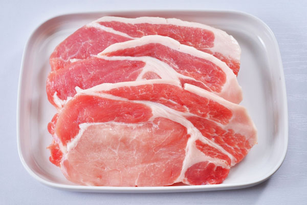 アルギニンの量が多い豚肉